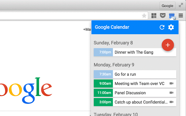 Google-Calendar-Chrome-Extension-by-Google