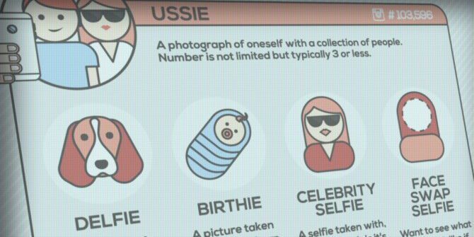 How Many Types of Selfies Have You Done?