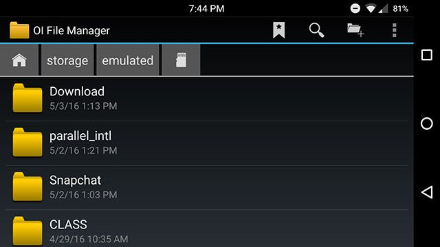 file-explorer-android