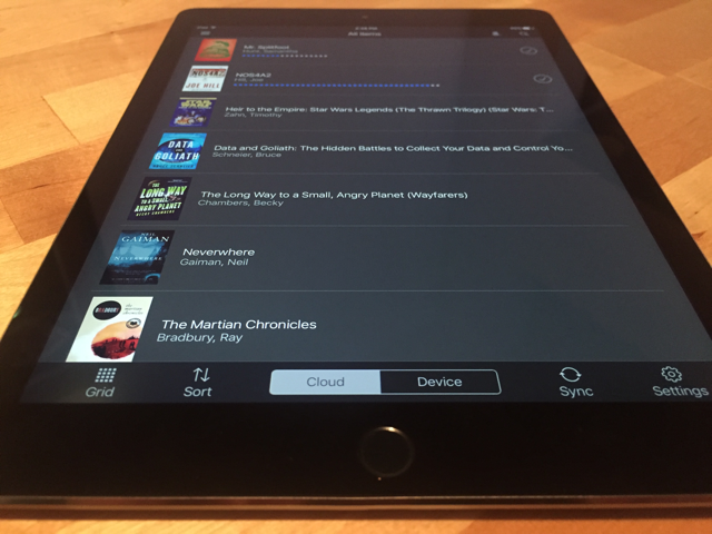 kindle-ipad-library