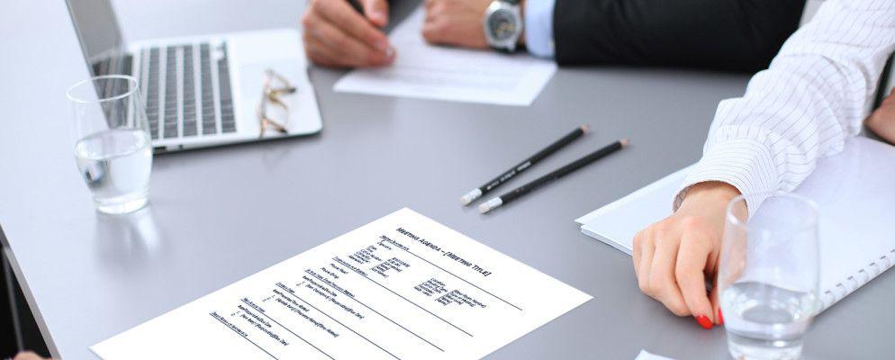 15 Free Meeting Agenda Templates for Microsoft Word