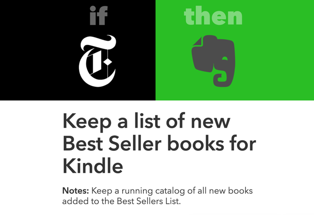 How to Use IFTTT to Supercharge Your Kindle