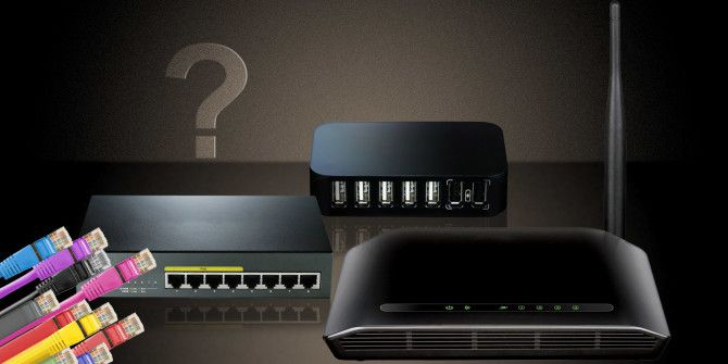 What's the Difference Between Routers, Hubs, and Switches?