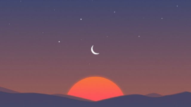 sunrise-calendar-app-sunset