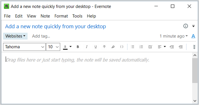 EvernoteWindowsDesktopAddNote