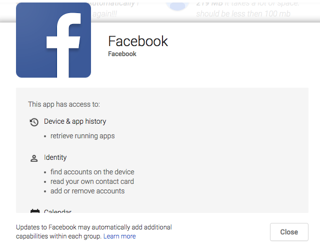 Facebook-sucks-on-Android-permissions