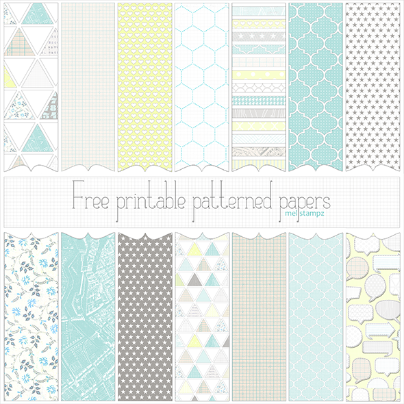 graphic regarding Free Printable Pattern Paper identified as 20 Absolutely free Electronic Habit Packs That Yourself Can Down load Previously