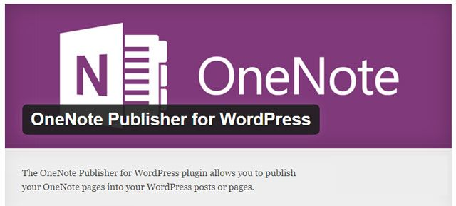OneNote Publisher
