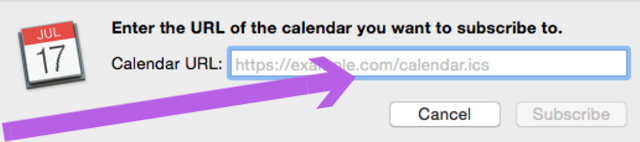 Sharing Google Calendar with Apple