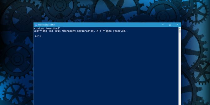 15 Advanced Tasks PowerShell Can Handle in Windows 10