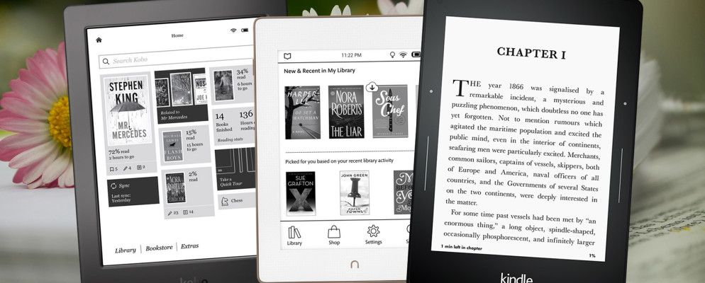 The Best Ebook Reader: 7 Models Compared