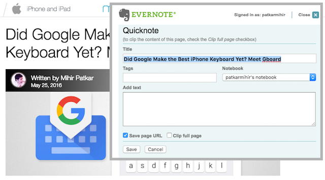 bookmarklet-evernote