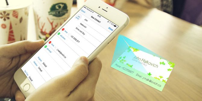 How to scan and manage your business cards colourmoves