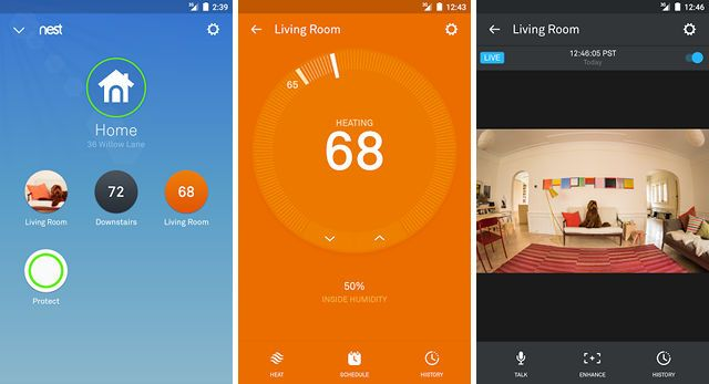 smart-thermostat-nest-mobile