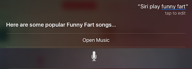 Apple-Music-tips-siri-funny-fart