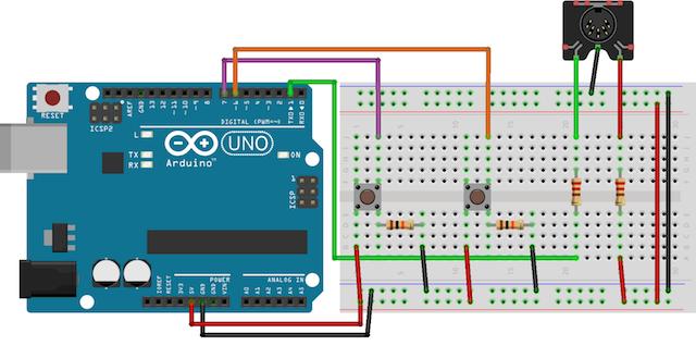 Diy usb midi controller arduino do it your self