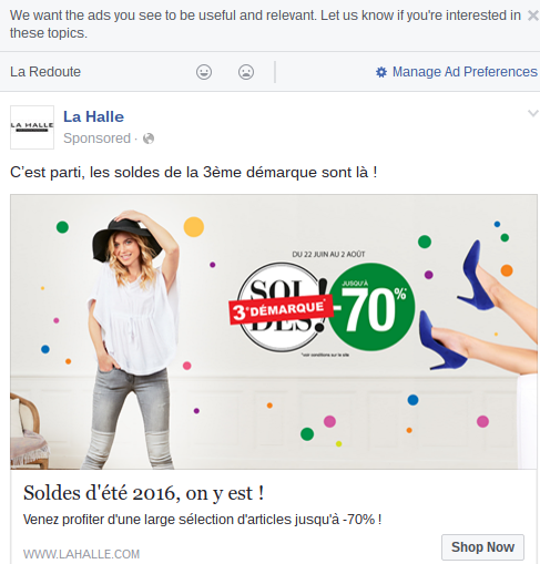 Facebook Advert Fine-Tuning