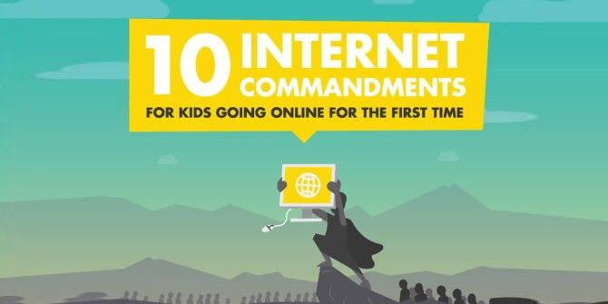 10 Things To Teach Your Kids Before They Go Online