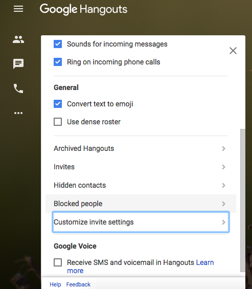 How to Stop Strangers Inviting You on Google Hangouts