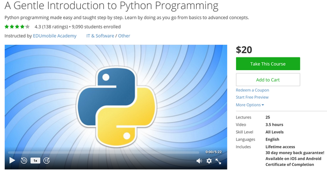 5 Courses That'll Take You from Python Beginner to Pro