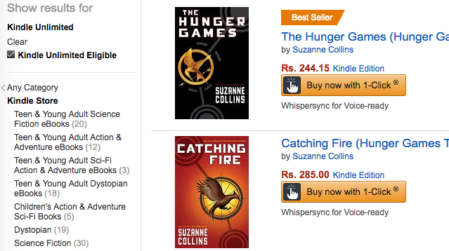 Kindle-Unlimited-Hunger-Games