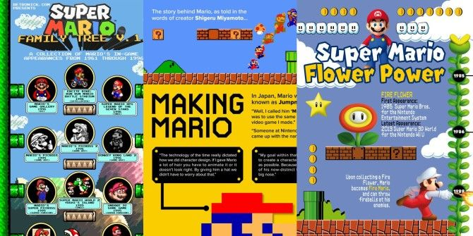 These Infographics Will Teach You All About Super Mario