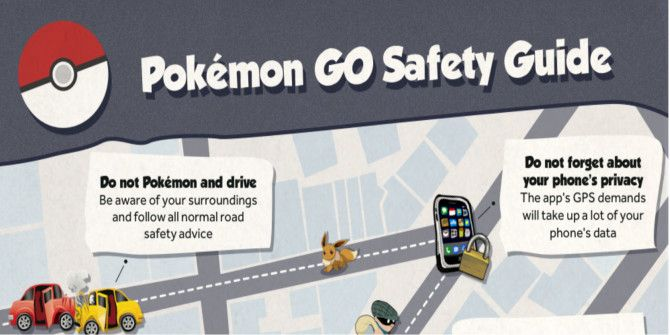 Learn Pokemon Go Safety in 15 Seconds
