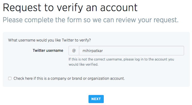 Twitter-account-verification-request-form