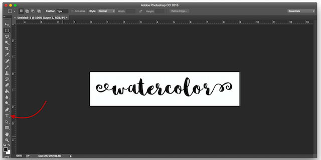 Here's an Easy Way to Add Textures to Text in Photoshop