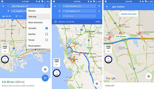 how to add get directions in a google map
