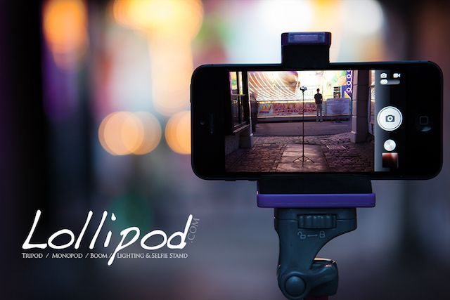 Lollipod.com - The Tripod / Monopod / Boom / Lighting & Selfie Stand for a multiple devices from Smart Phones to GoPro, smaller Cameras, Strobes or Video lights.