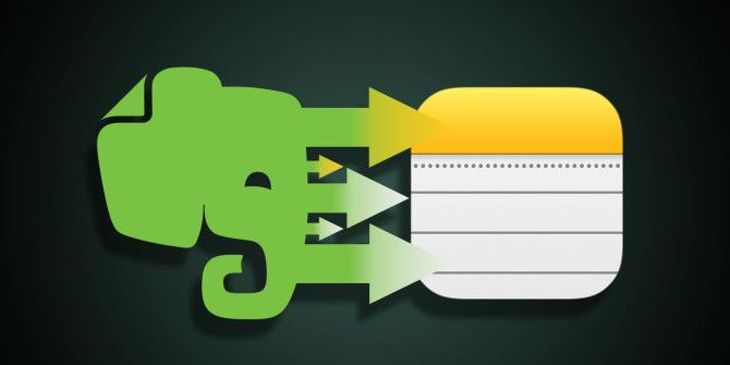 Thinking of Switching From Evernote to Apple Notes? Here's How