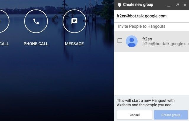 group google chat