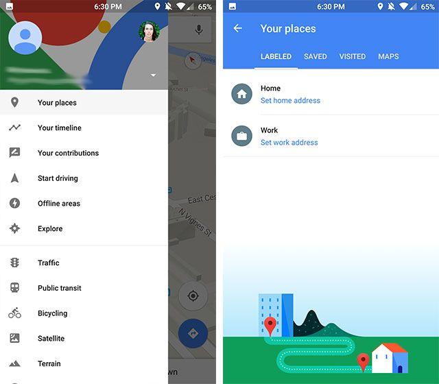 labels-google-maps