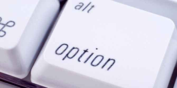 How the Mac Option Key Can Give You More Menu Options
