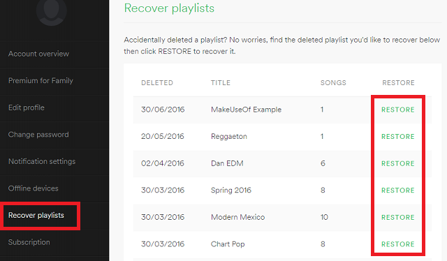spotify-playlist-restore