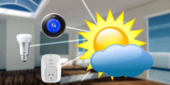 How to Use the Weather Forecast to Automate Your Home