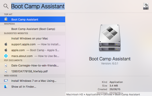 Part 1: How to Create A Bootable Windows 10/8/7 USB on Mac with Bootcamp