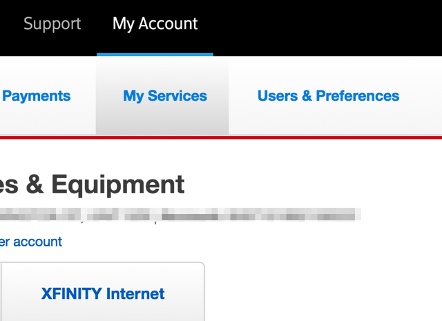 xfinity-account-services