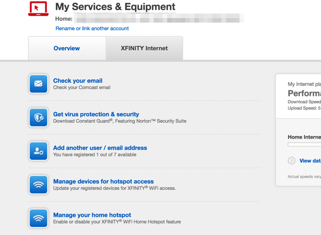 xfinity-services-equipment