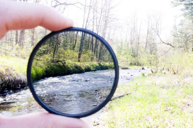 Neutral Density Filter Photography Effect Example