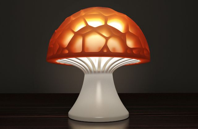 3d-printing-useful-at-home-voronoi-mushroom-lamp