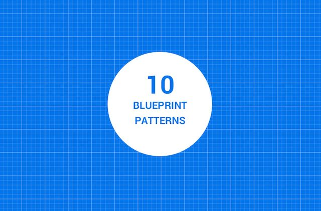 Blueprint Background Pattern Example