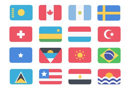 Flag Graphics Pack Example