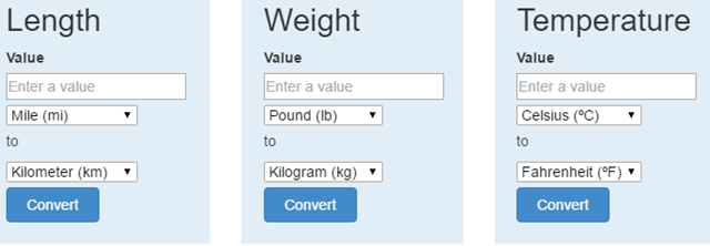Unit Converter Chrome Extension