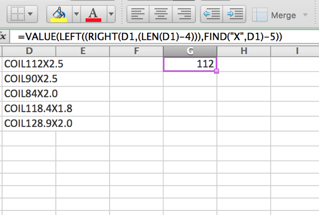excel-value-function