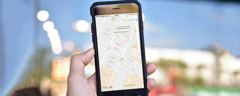 So sehen Sie Google Maps Richtungen ohne entsperren Ihr iPhone