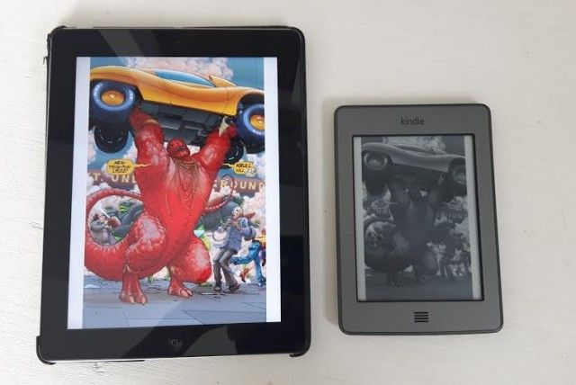 iPad and Kindle compared