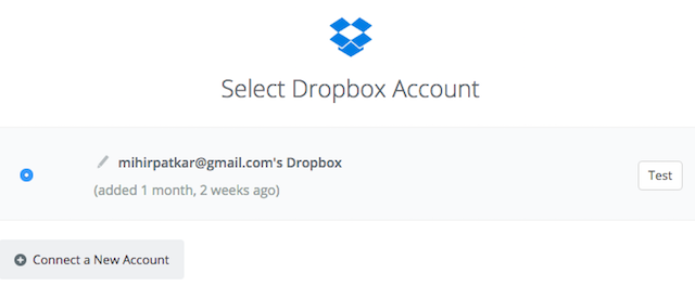Instagram Download Likes Dropbox Upload File Step 2