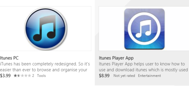 iTunes in Windows